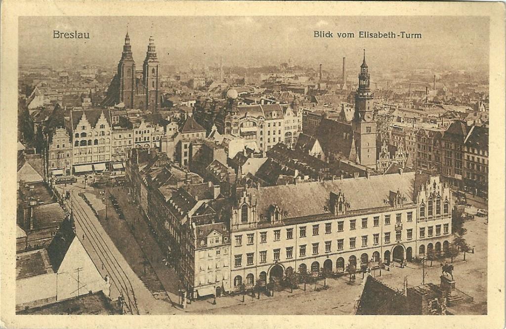 Breslau-Postkarte-o.J. (Wroclaw), Privatbesitz