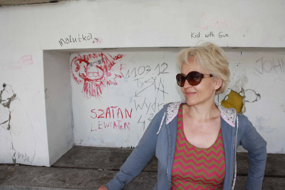 Ulrike Draesner auf der Liebighöhe Bild Horst Konietzny