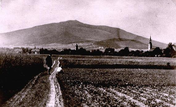 Zobten_Postkarte Wikimedia PD 1920 #7terSprung
